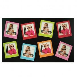 Cornice fotografica in legno 8 foto ZEP tipo polaroid