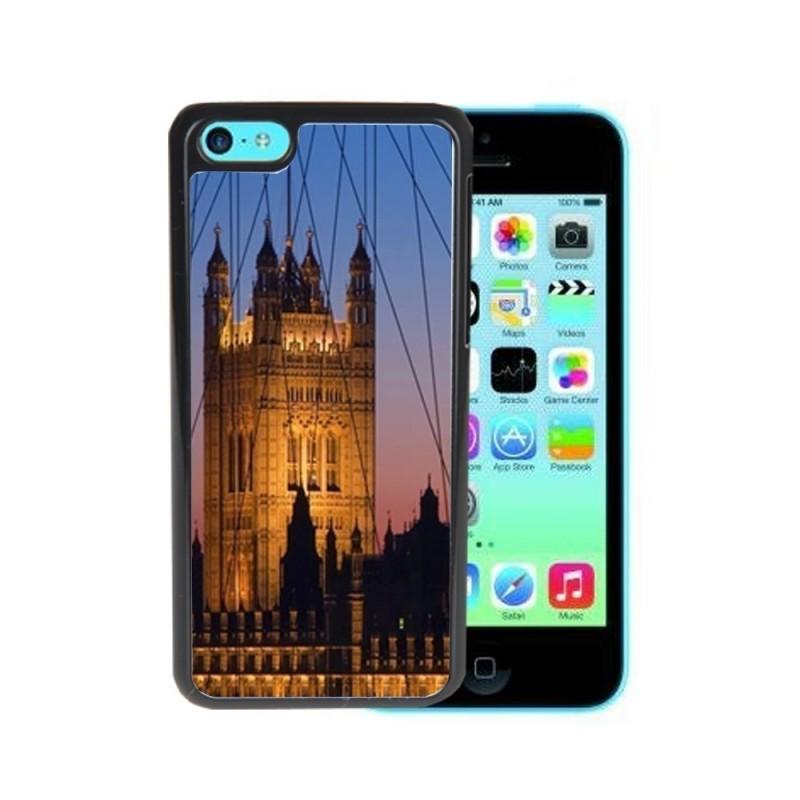 Cover 2d per iphone 5c personalizzabile con foto(bordi bianchi)