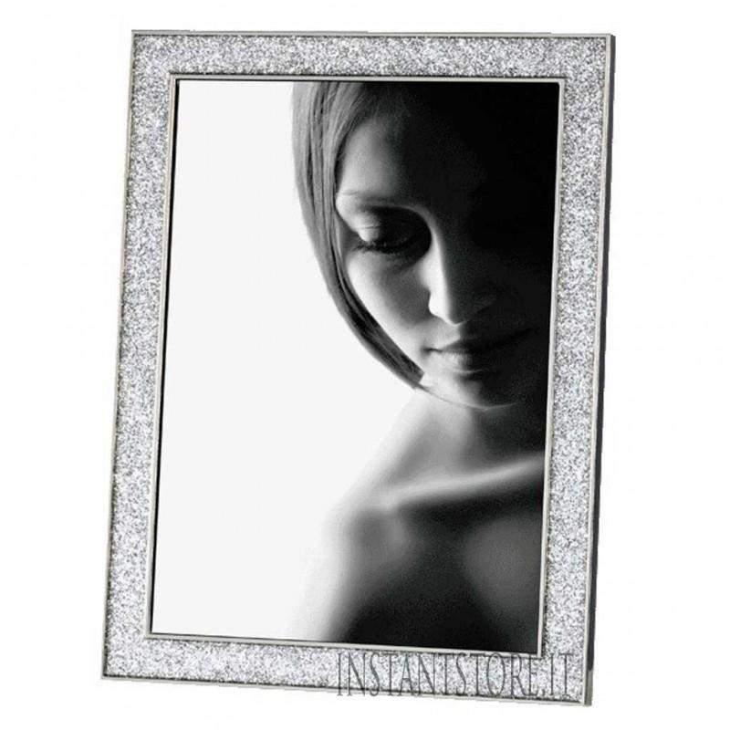 Cornice Fotografica 10 x 15 Mascagni M406 portafoto in metallo con glitter