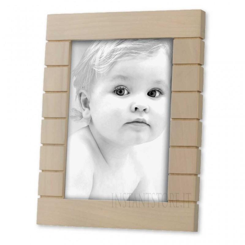 Cornice Portafoto in legno 13x18 Mascagni sabbia m787