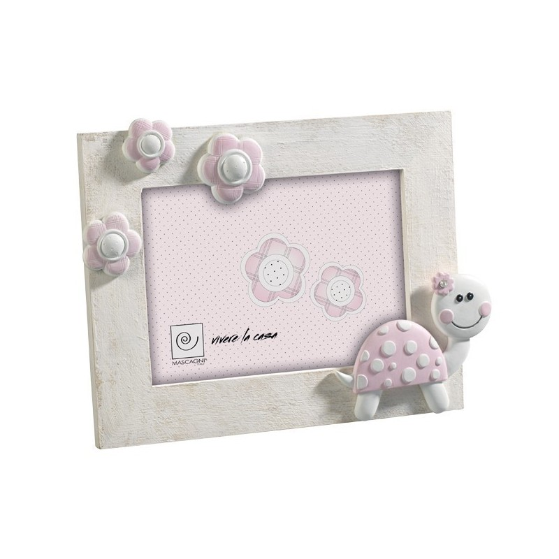 Cornice Portaritratti in legno Mascagni  13x18- a176-rosa