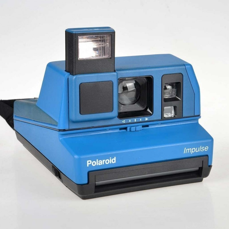 Polaroid 600 Impulse Blu Rara testata e funzionante