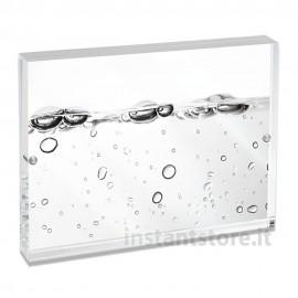 Cornice Portaritratti 10x15 da Mascagni portafoto in acrilico Trasparente con magneti -m215