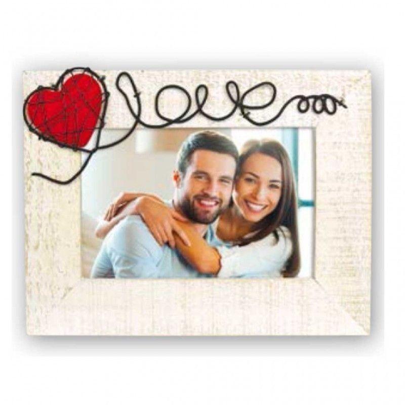 Cornice Fotografica Annamaria Orizz Portafoto 10x15 Zep San Valentino