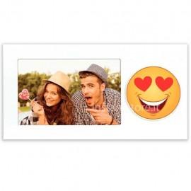 Cornice Fotografica Emoji S.Valentino Portafoto 10x15 Zep