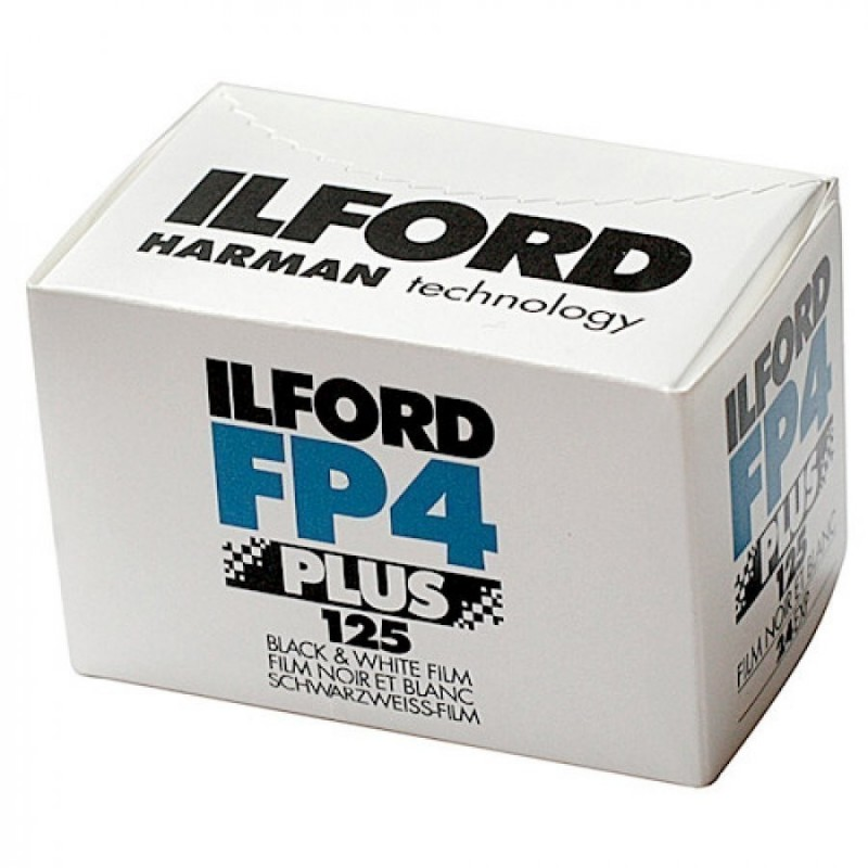 ILFORD FP4 PLUS 125 36 exp Black & Wide Pellicola in Bianco e Nero 35 mm