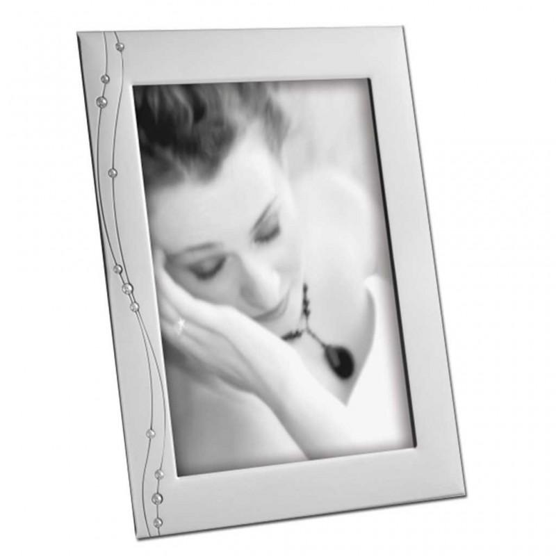 Cornice Fotografica Mascagni 13x18  A506 portafoto in Metallo con cristalli