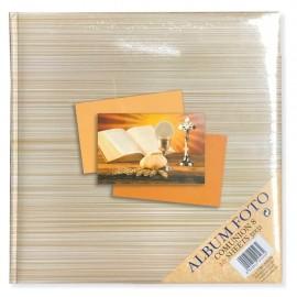 Album Fotografico Tradizionale 20 fogli 31x31 Portafoto Comunione 8