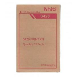Carta HiTi di alta qualità per stampante a Sublimazione HiTi S420