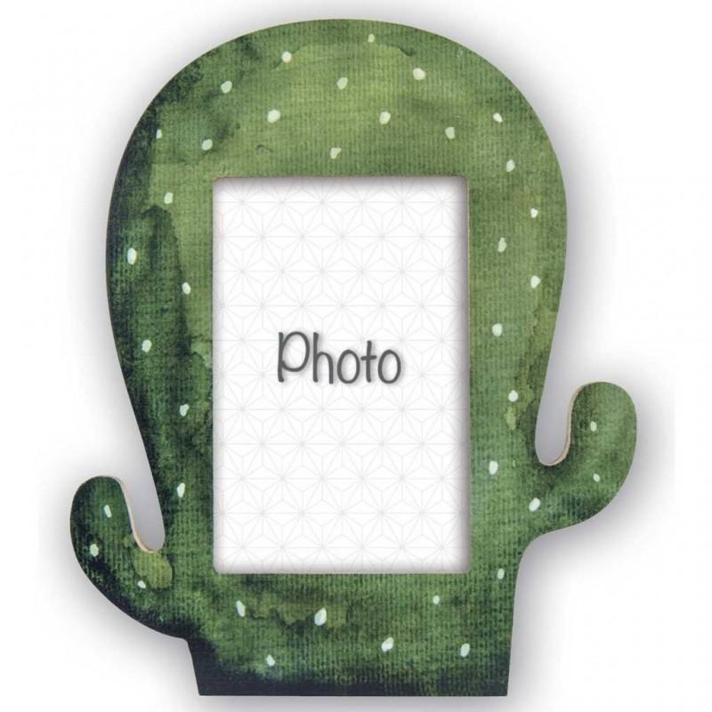 Cornice Fotografica Zep Portafoto Cancun cactus in legno