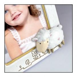 Cornice Fotografica Zep Portafoto 10x15 in resina con Pecorella