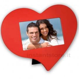 Cornice Fotografica Cuore Portafoto Zep 10x15 san valentino