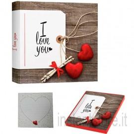 Album Fotografico Tradizionale portafoto 24x24 Valentine A