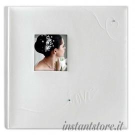 Album Fotografico Tradizionale Linda 30 fogli 24x32 Portafoto carta velina