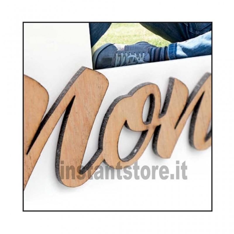 Cornice portafoto in legno Nonno per foto 10x15