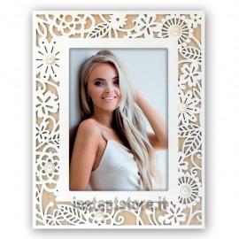 Cornice Fotografica 13x18 in legno portafoto Lorella