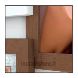 Cornice Fotografica Zep Murray in legno 5 foto multipla