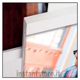 Cornice Fotografica Zep Ancona White in legno 4 foto multipla