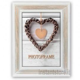 Cornice fotografica 20x30 Zep in legno portafoto Zacapa