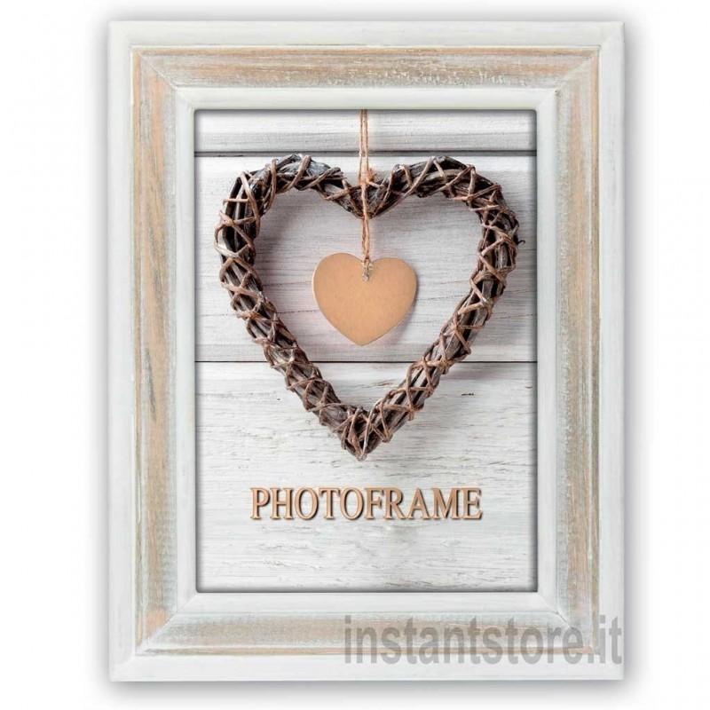 Cornice fotografica 13x18 Zep in legno portafoto Zacapa