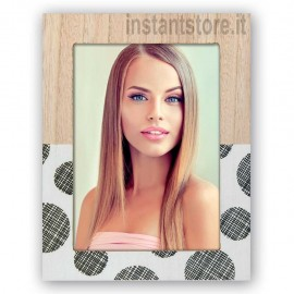 Cornice fotografica 13x18 Zep in legno portafoto Merida