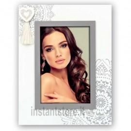 Cornice in legno Oise V portafoto san valentino 10x15 con cuore