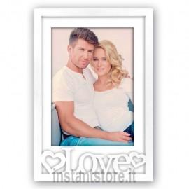 Cornice Fotografica in ps 2 minerva portafoto 10x15 Love