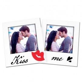Cornice Fotografica ZEP Kiss Me Portafoto san valentino