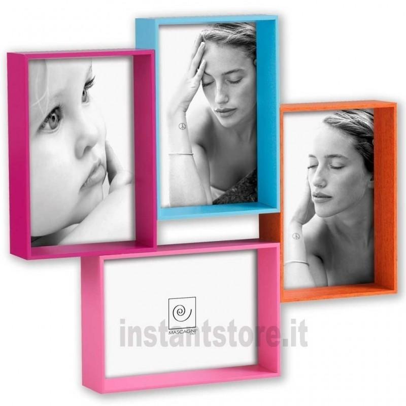 Cornice Portafoto Multiplo Da Parete Mascagni A872
