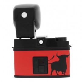 Lomography Diana F+ El Toro medio formato lomo con flash rossa