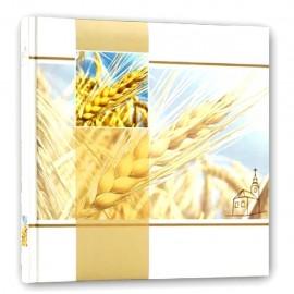 Album Fotografico Tradizionale 12 fogli 24x24 Portafoto Comunione con grano