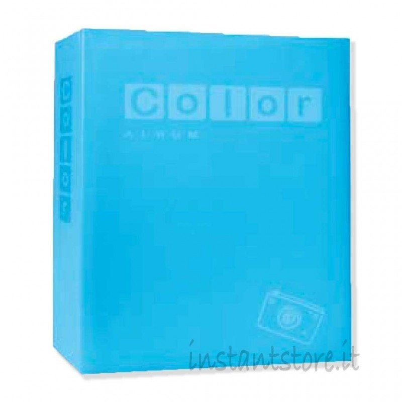 Album Fotografico 100 foto 15x23 portafoto New Color pastello