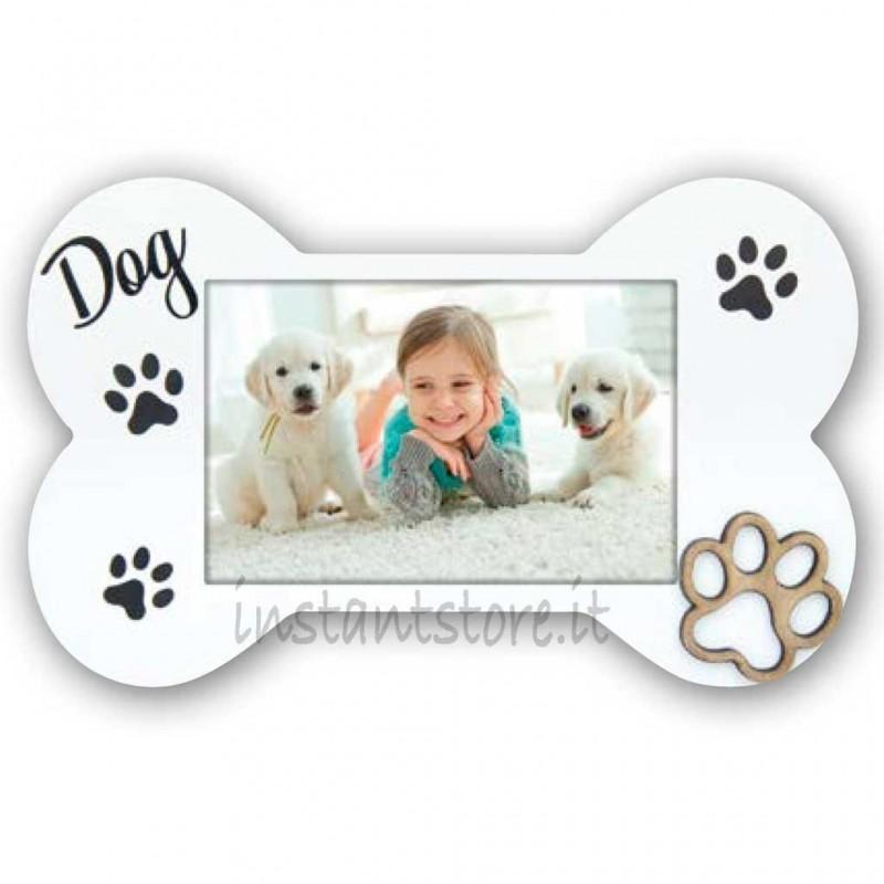 Cornice portafoto in legno 10x15 per cuccioli 10x15 Floyd