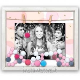 Cornice fotografica in legno 13x18 Portafoto diciottesimo compleanno