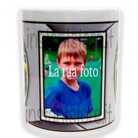 Tazza in ceramica squadra del cuore personalizzata con foto - Juve