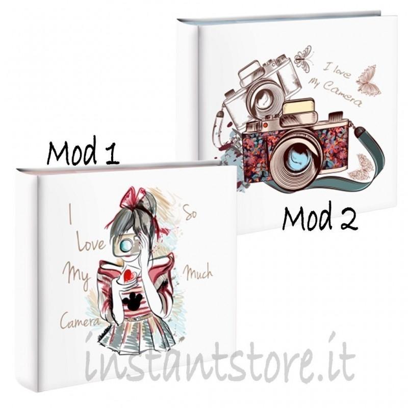 Album Fotografico 100 foto 13x19 Portafoto Mascagni s478 love my camera