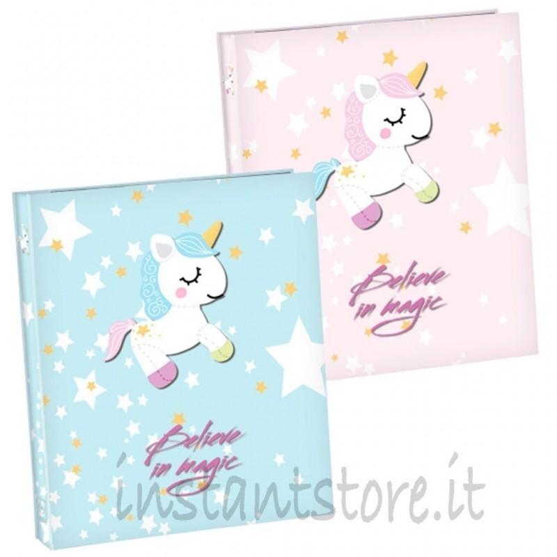 Album Fotografico 100 foto 13x19 Portafoto Mascagni s474 unicorno