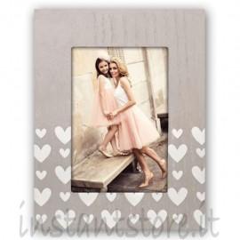 Cornice Fotografica Zep Portafoto 10x15 Tessa V con cuori