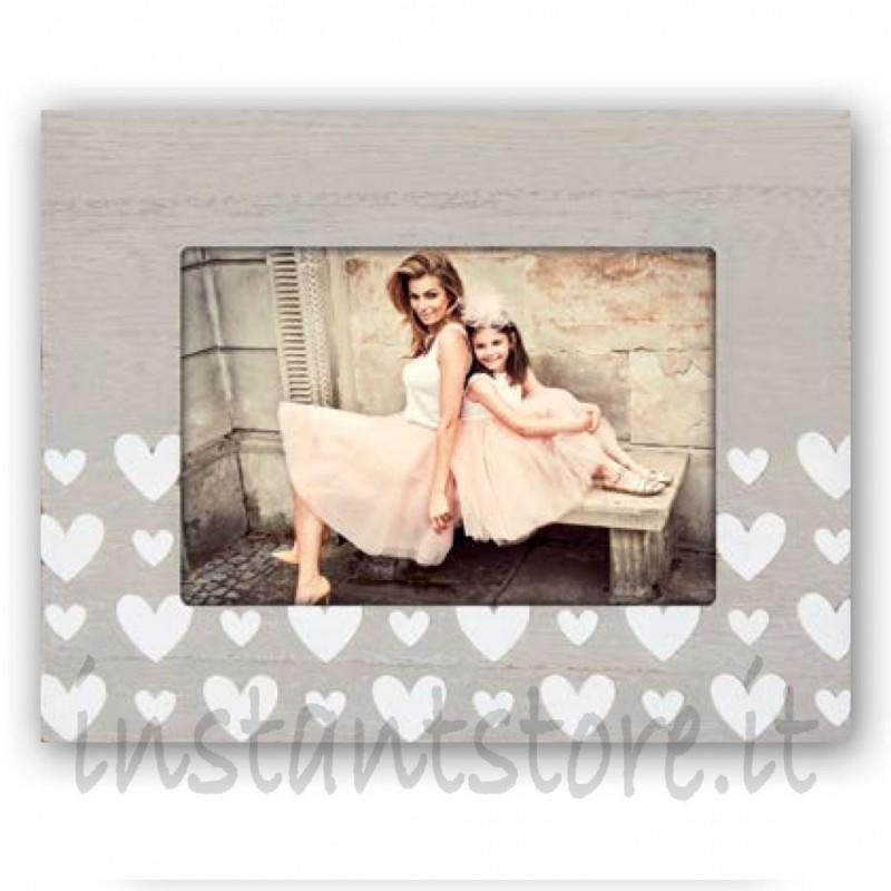 Cornice Fotografica Zep Portafoto 10x15 Tessa O. con cuori