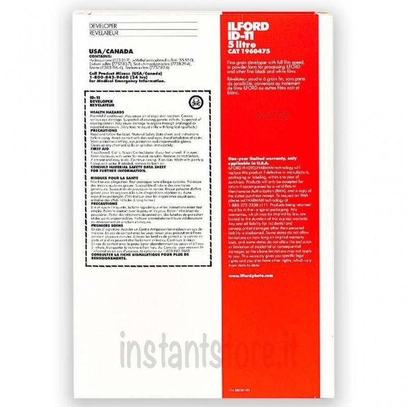 Ilford ID-11 in polvere per 5 LT Sviluppo Pellicola in bianco e nero