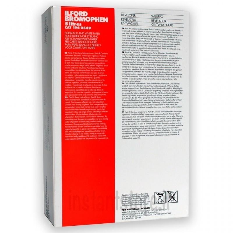 Ilford BROMOPHEN in polvere per 5 LT Sviluppo carta bianco e nero