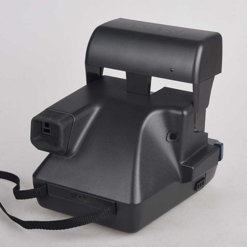 Polaroid 636 Azzurra serie 600 con flash Testata instant camera