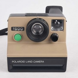 Polaroid 1500 Land Camera sx 70 series color Safari Vintage