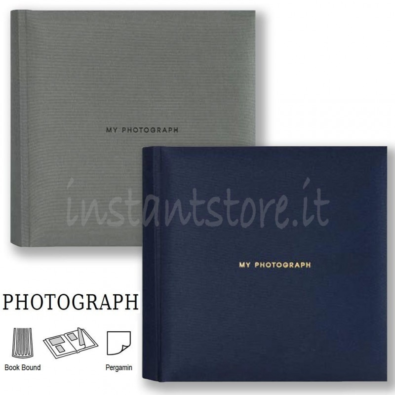 Album Fotografico Tradizionale 20 fogli 24x24 Portafoto my Photograph