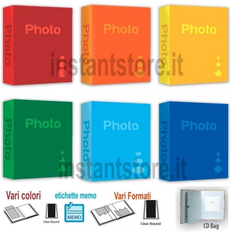 Album Fotografico Basic 100 200 300 foto vari colori e formati