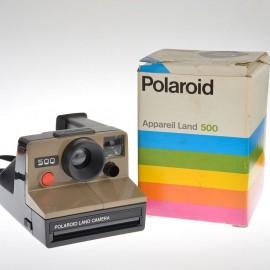 Polaroid 500 land camera serie sx 70 in confezione