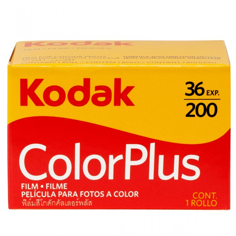 Kodak ColorPlus 200 36 pose Pellicola a colori 35 mm