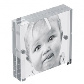 Cornice Fotografica 10x10 Mascagni m215 portafoto Trasparente con magneti