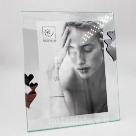 Cornice Fotografica mascagni 13x18 a820 portafoto in metallo vetro
