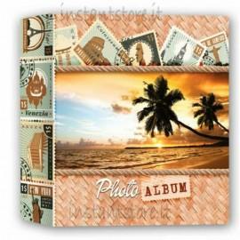 Album Fotografico Zep 200 foto 13x19 13x18 Portafoto Palme viaggi jp57200